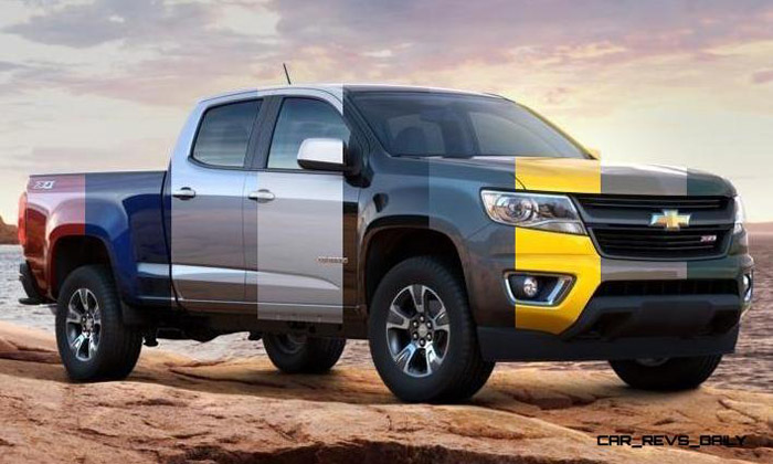 Chevrolet Colorado 2017 color