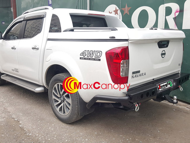 can sau do pj241 Nissan NP300 Navara 2017