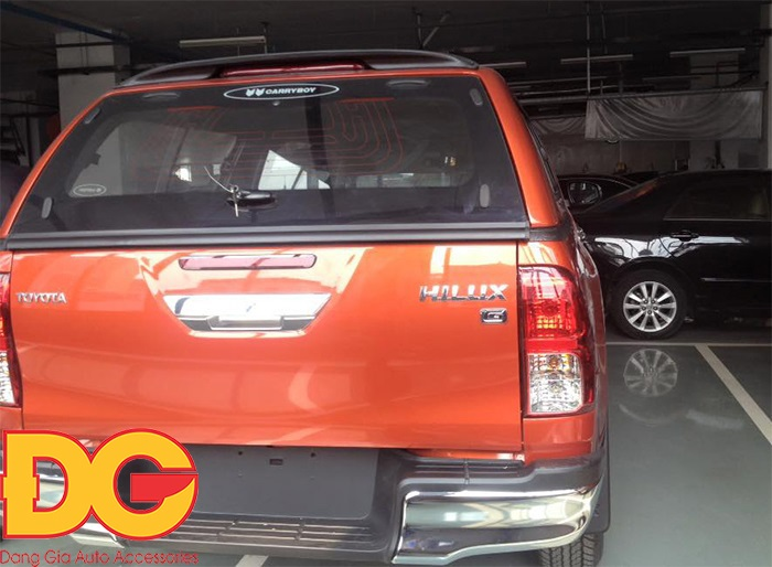 canopy carryboy s560n hilux revo