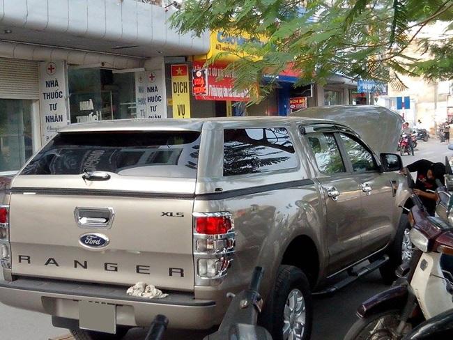 canopy ford ranger thai lan