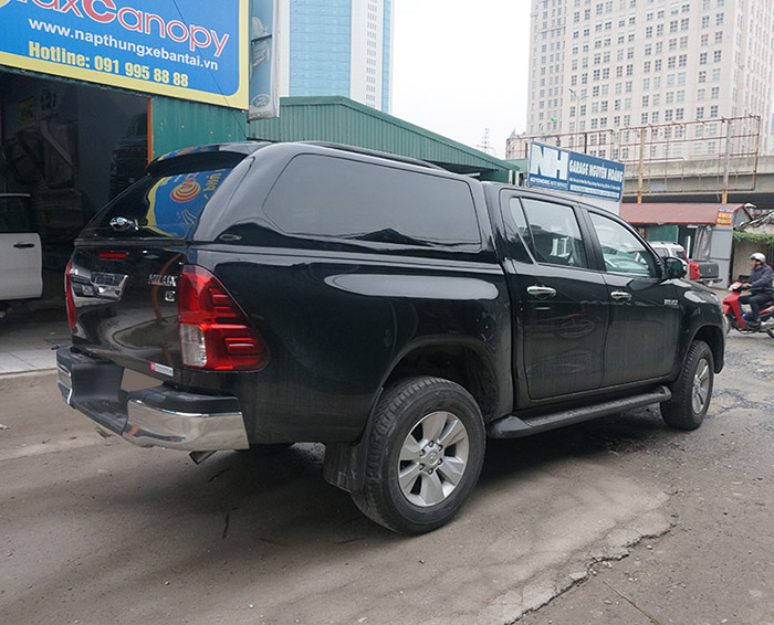 canopy nap thung gse Toyota Hilux Revo 2016