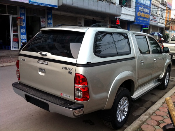 canopy pickup toyota hilux 2015