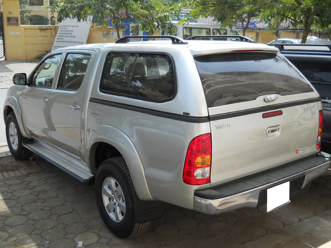 canopy pickup toyota hilux gse