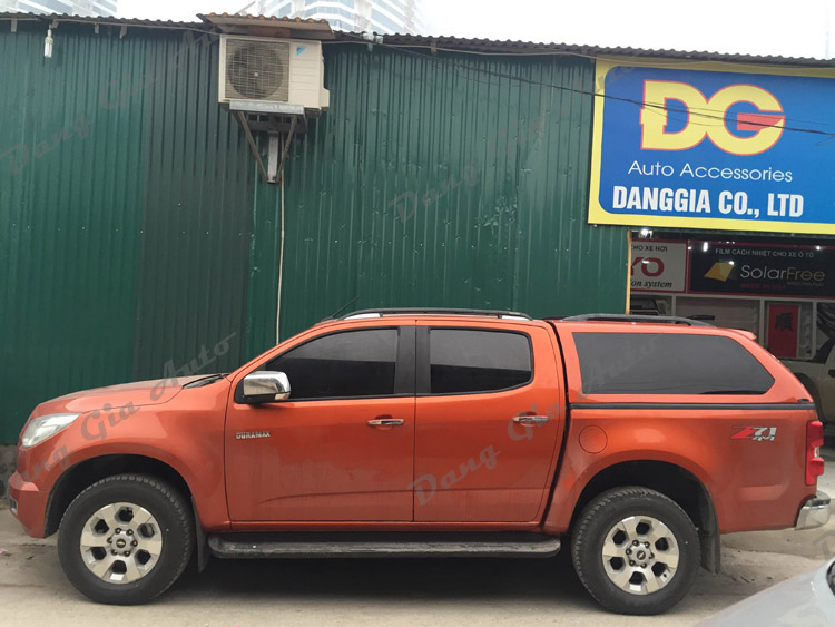 canopy xe Chevrolet Colorado 2016