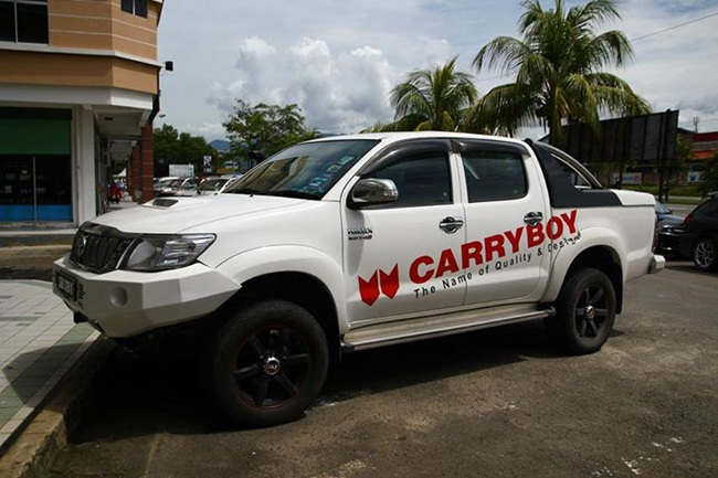 carryboy ford ranger 2014