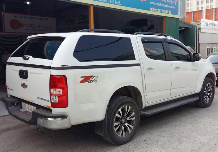 Chevrolet Colorado 2017 canopy nap cao