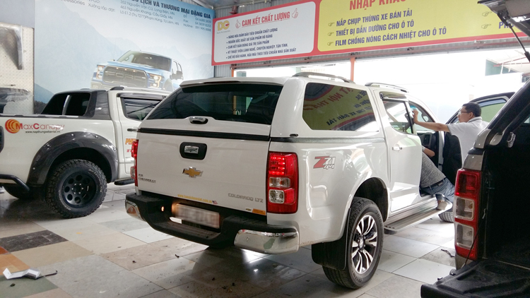 danggia nap canopy Chevrolet Colorado 2017