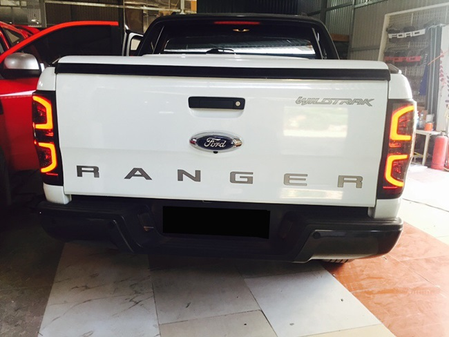 do Ford Ranger den led hau