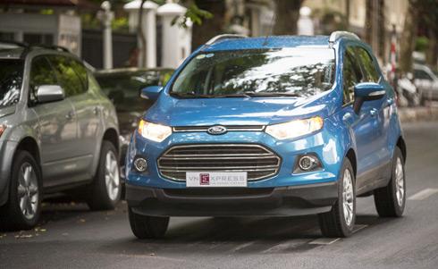 Ford Ecosport xe ua chuong suv