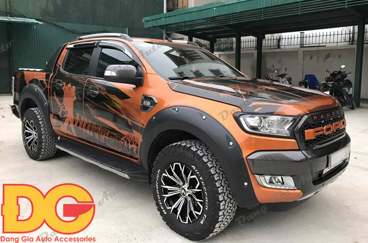 lazang xe Ford Ranger 2017 do 1