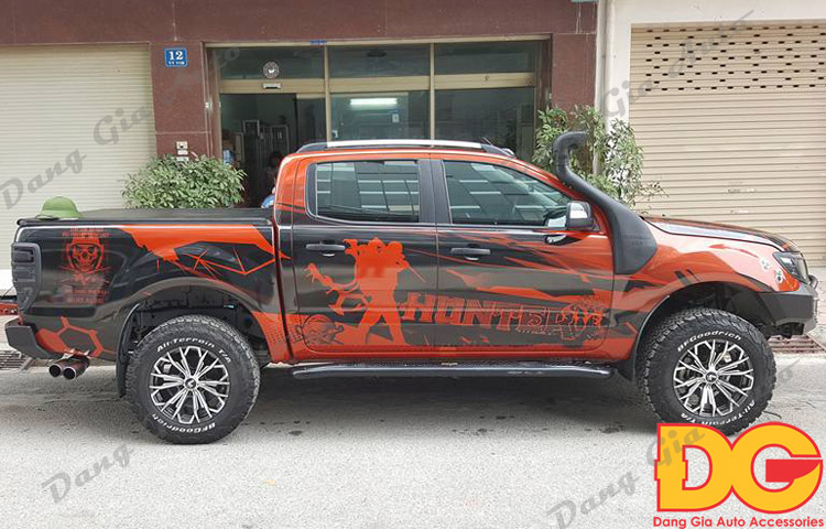 lazang xe Ford Ranger 2017 do