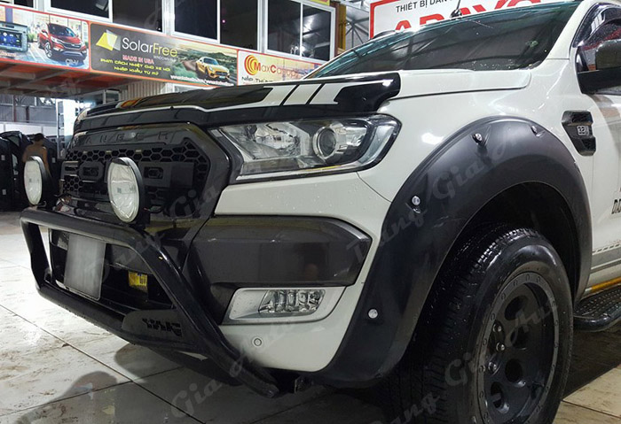 luot gio do Ford Ranger wildtrak 2017
