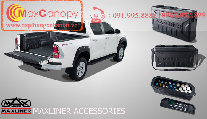 maxliner sidebox hop dung do xe Toyota Hilux