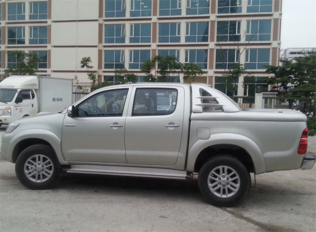 nap chup thung canopy hilux toyota