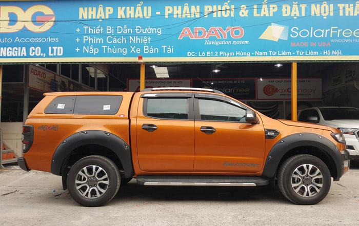 Nắp thùng Canopy Ford Ranger Thái Lan SM