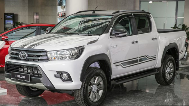Toyota Hilux 24G limited edition 2017