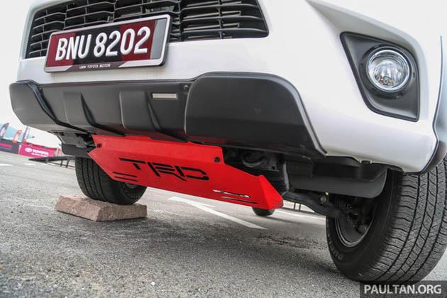 Toyota Hilux phụ kiện TRD ốp gầm