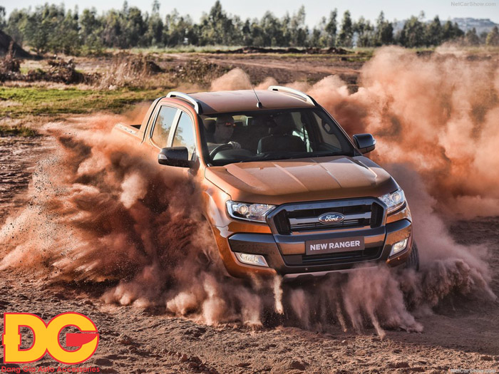 Doanh số Ford Ranger bán ra 1.342 chiếc trong tháng 1/2017