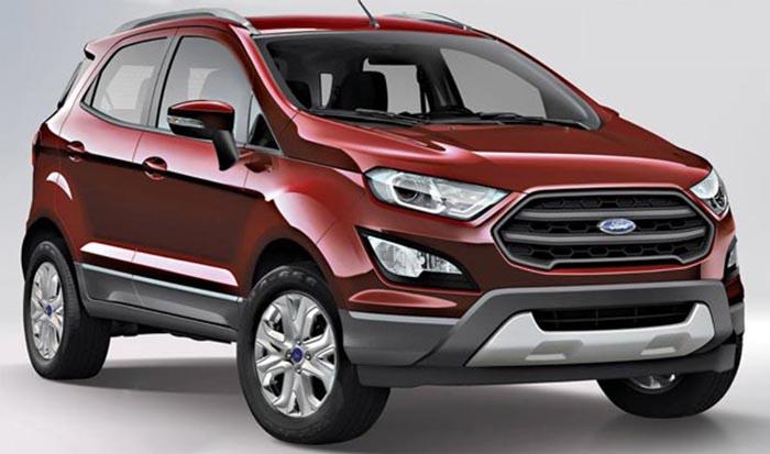 Ford Ecosport 2017 trên đường thử tại Brazil