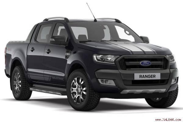 Ford Ranger Wildtrak Jet Black Edition giá khoảng 726 triệu đồng