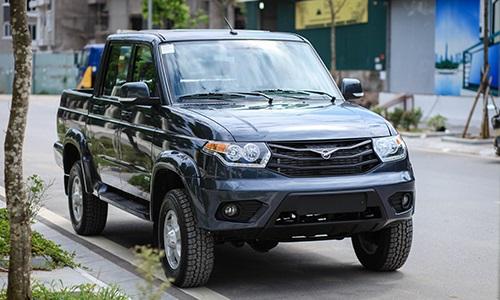 Xe bán tải UAZ giá rẻ của Nga liệu có tạo lên cơn sốt
