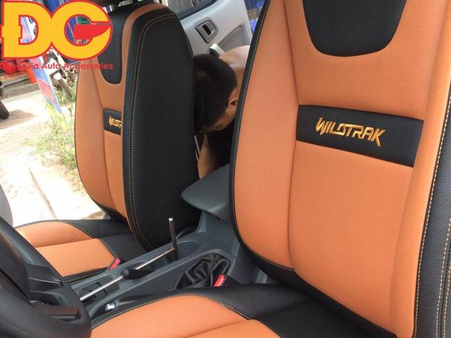 Bọc ghế da xe bán tải Ford Ranger