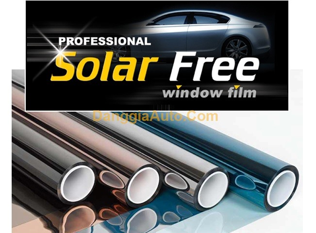 Dán phim cách nhiệt kính ô tô SolarFree giá tốt