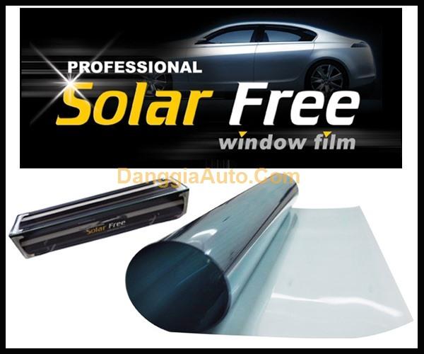 Dán phim cách nhiệt Kính sườn Solar Free -  SBD20