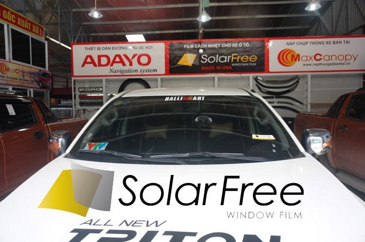 Dán phim cách nhiệt ô tô SolarFree USA XỊN, GIÁ CỰC TỐT