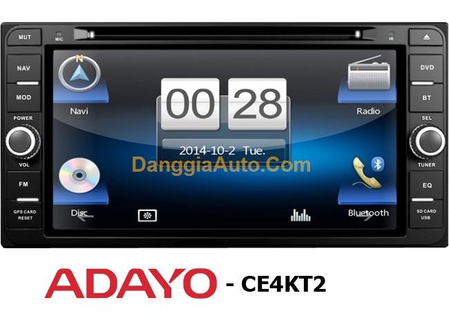 Đầu DVD Adayo Toyota kèm GPS CE4KT2
