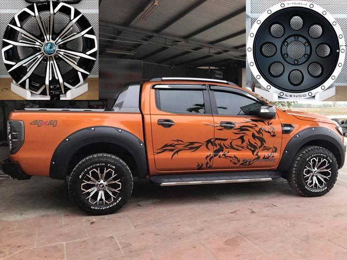 Lazang - Mâm xe Ford Ranger