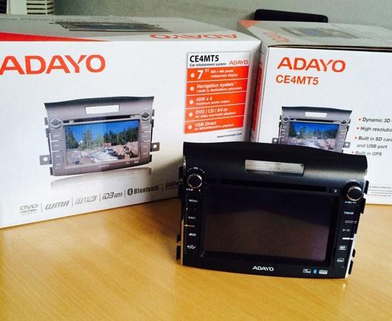 Màn hình DVD Honda CR-V Adayo