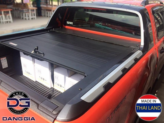 Nắp thùng cuộn kéo Ford Ranger Wildtrak 2016 2017