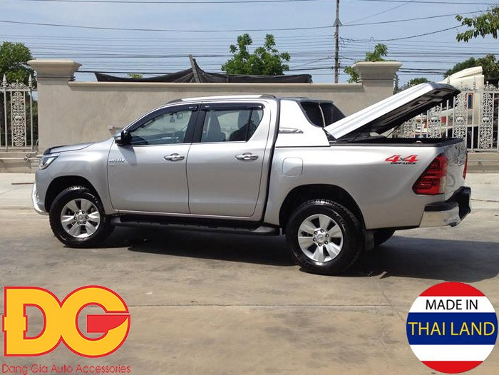 Nắp thấp Carryboy Fullbox Toyota Hilux