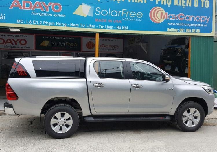 Nắp thùng cao Toyota Hilux Sammitr TL-1