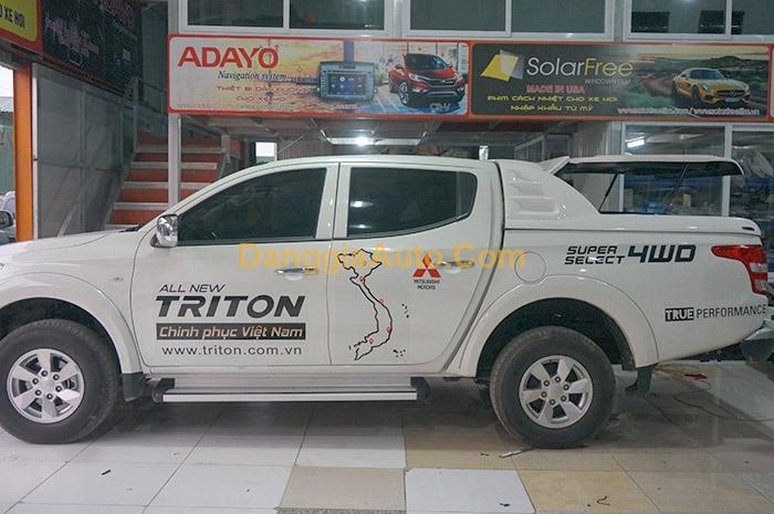 Nắp thùng mở 90 độ Mitsubishi Triton SM1