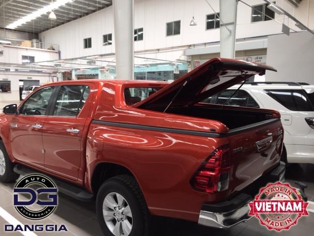 Nắp thùng thấp Karuna xe Toyota Hilux