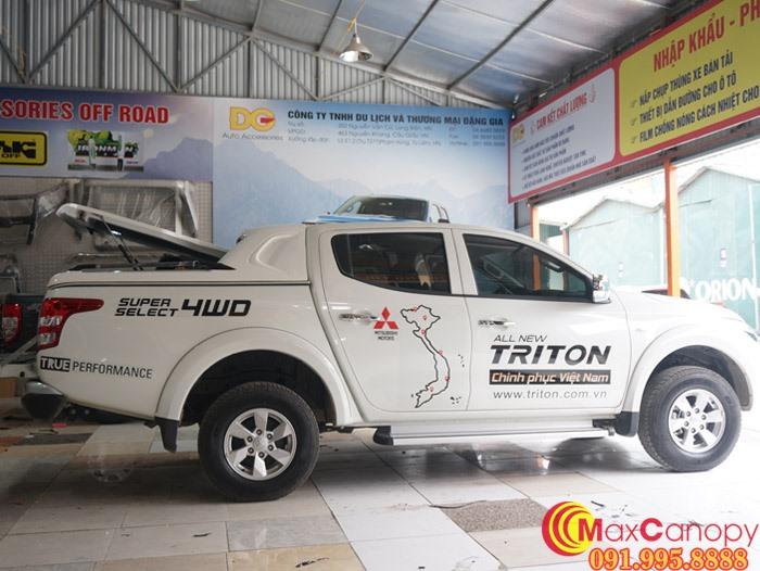 Nắp thùng thấp SCR Mitsubishi Triton 2015