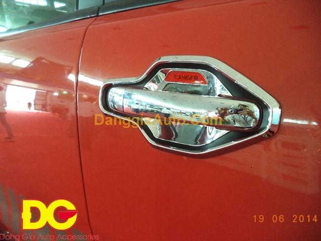 Ốp hõm cửa - Ốp tay cầm cửa Ford Ranger