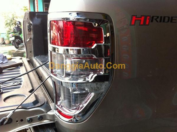 Viền đèn trước - sau xe Ford Ranger